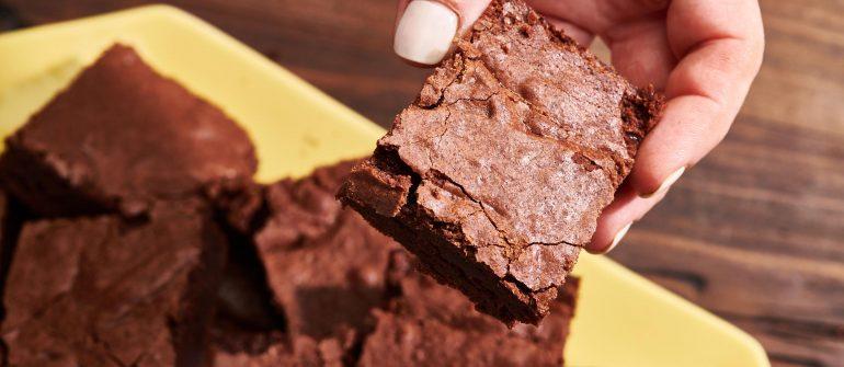 Cannabis Fudge Brownie